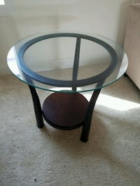 Glass top side and center (coffee) tables - Will deliver (depending on location) if you prefer. Hanover, 21076