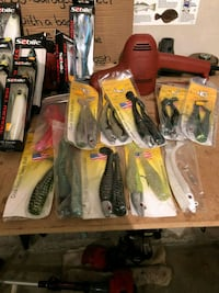 New fishing lures Providence, 02903