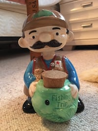 Brand New Bobble Buddy Fisherman Bank - pickup in Aiea Aiea, 96701