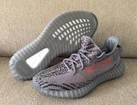 pair of gray Adidas Yeezy Boost 350 V2 New York, 10469