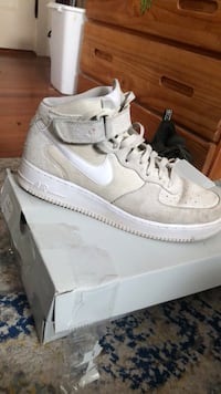 white nike air force 1 high Boxford, 01983