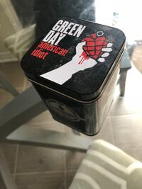 RARE Green Day American idiot candle in tin Courtice, L1E 0H5