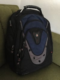 black and gray Swiss backpack Bremerton, 98337