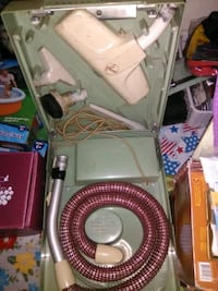 A portable Hoover vacuum works great old Milford, 45150
