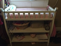 Baby's white wooden changing table Conway, 29526