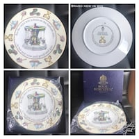 Royal Worcester - Days of the Week Plate