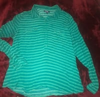Old navy turquoise collared top  Rockville, 20853