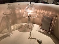 Fine crystal lamp and accessories Annandale, 22003