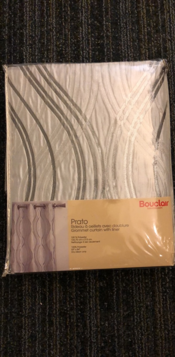 Grommet curtain with liner - NEW 92a0eda5-20f6-4a50-b6de-97cbc856545f