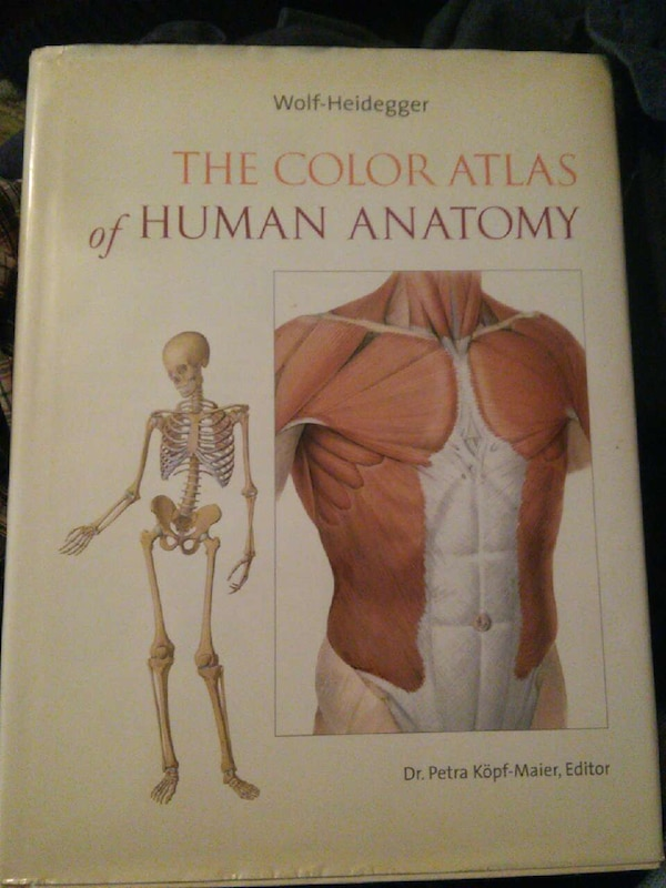 Used The Color Atlas Of Human Anatomy Dr Petra Kopf Maier Editor