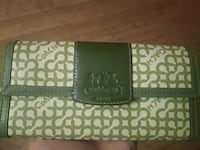women's black and gray Coach trifold wallet Ontario, M3H 3N4