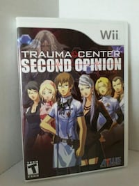NINTENDO WII TRAUMA CENTRE SECOND OPINION GAME Pickering, L1V 3V7
