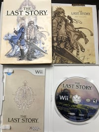 The Last Story wii game Innisfil