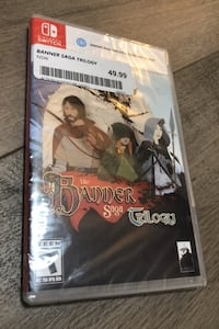 Switch game The Banner Saga Trilogy Nintendo sealed