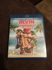 Alvin and Chipmunks Chip wrecked Blu-ray and dvd  Lancaster, 17603