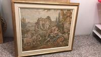 brown wooden framed painting of people Mississauga, L5N 2A5