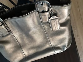 Coach purse - leather - gently used