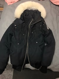 Moose Knuckles Ballistic Bomber Mens size XS winter jacket.