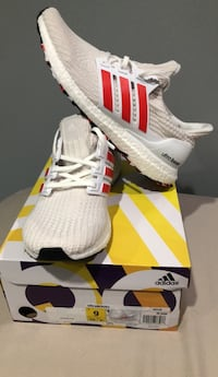 """Red line"" ultra boosts  sz.9 Silver Spring, 20903"
