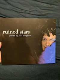 Poetry book - Ruined Stars by RM Vaughan  Vaughan, L4H