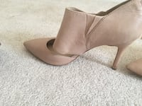 beige leather heeled ankle boot London, N6G 5M9