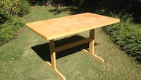 Rectangular tropical maple table Las Cruces, 88011