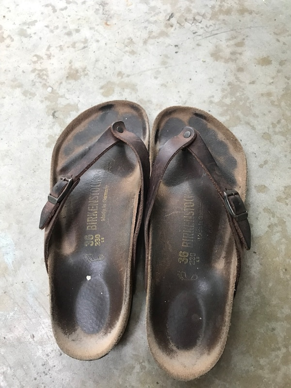 4375e3c8a5df Used Birkenstock Adria Thong Sandal 36 for sale in Houston - letgo