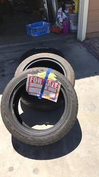 Tires size 17 and 15