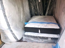 New Double full mattress 300 delivery same day 30. Single 150