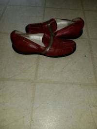 pair of red leather loafers Frederick, 21702