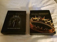BLU-RAY GAME OF THRONES SEASONS 1&2 Barrie, L4N
