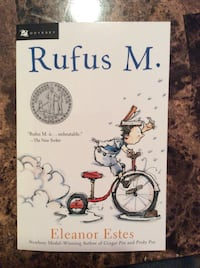 Rufus M. By Eleanor Estes Book. New Never Used . Quincy, 02169