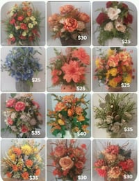 Clearance Fall Thanksgiving Floral arrangements  Henderson