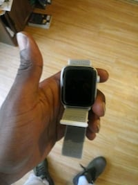 black and silver smart watch Baltimore, 21218