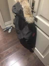 Grey Canada Goose Jacket (women's)  WOODBRIDGE