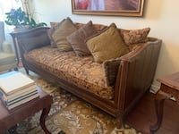 Leather and fabric sofa Vaughan, L6A 4B2