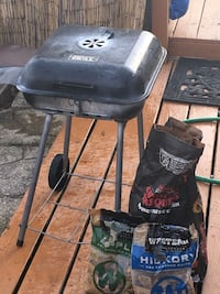 Charcoal Grill with charcoal, apple wood chips and hickory wood chips Glen Burnie, 21061