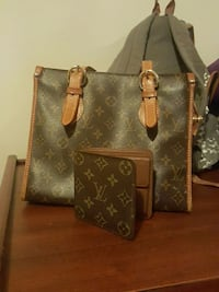 women's gray and brown leather louis vuitton tote bag Ontario, M1L 1T4