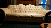 tufted white and black fabric sofa Suitland-Silver Hill, 20746