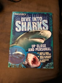 Dive into Sharks Discovery channel book Shelton, 98584