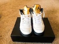 Air Jordan Retro 5 Size 9.5 Owings Mills