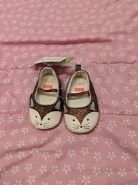 Girl 0-3m shoes - brand new with tags  Surrey, V3W 5S2