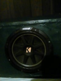 black and green kicker subwoofer Gainesville, 30507