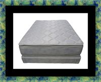 Pillowtop mattress with box spring Laurel