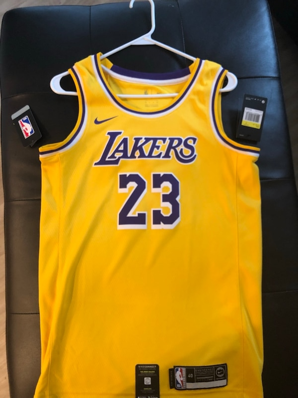 wholesale dealer b8656 e7b2c Official NBA Lakers Lebron James Jersey