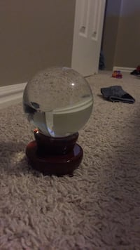 clear quartz crystal ball with stand  Clearfield, 84015