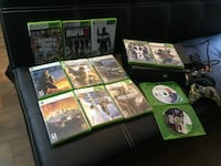 Xbox 360- 2 controllers-13 games Nashville, 37115