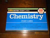 Sparks Noted Study Cards Chemistry
