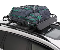 Subaru Heavy Duty Roof Cargo Basket w/Hardware and Cargo Net Included Tysons