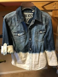 Guess denim shirt, size 5/6, for young child
